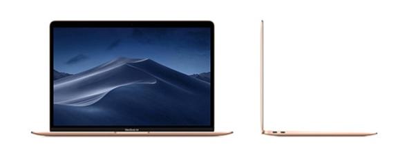 Apple MacBook Air 2020 MVH52SA/A nổi bật trong thiết kế