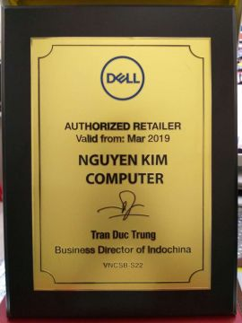 Vi tính Nguyên Kim tiếp tục là Authorized Retailer DELL năm ...