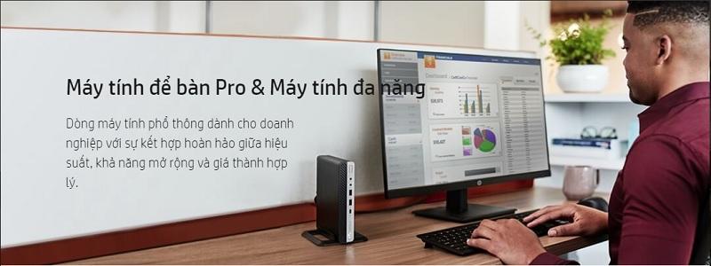 Máy tính để bàn Desktop HP đồng bộ giá rẻ tốt nhất cho cá nhân, doanh nghiệp core i3  i5 i7 Pavilion, Pro