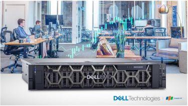 Máy Dell EMC PowerEdge R740 tối ưu hóa cho tăng tốc khối lượng công việc lớn của doanh nghiệp