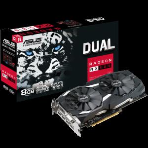 ASUS Dual series Radeon RX 580 OC