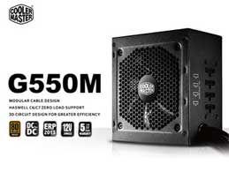 NGUỒN ATX POWER COOLER MASTER GM 550