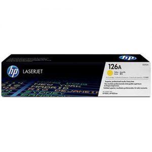 Mực HP 126A laser màu CP1025 CE312A