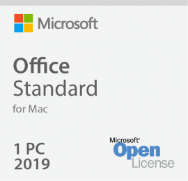 Microsoft Office MAC Standard 2019 3YF-00652