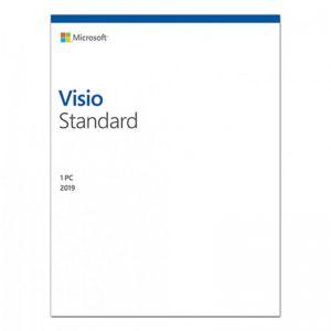 Microsoft Visio Standard 2019 D86-05822