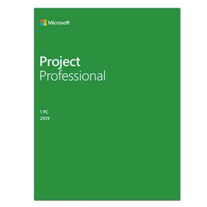 Microsoft Project Professional 2019 H30-05756