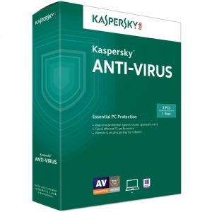 Kaspersky Anti Virus 3PC