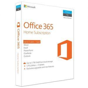 Microsoft Office 365 Home English 6GQ-00757