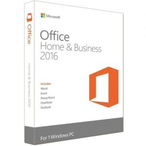 Microsoft Office Home and Business 2016 T5D-02695