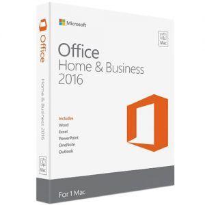 Microsoft Office Mac Home Business 2016 English W6F-00882
