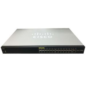 Switch Cisco SG350-28MP 24-port