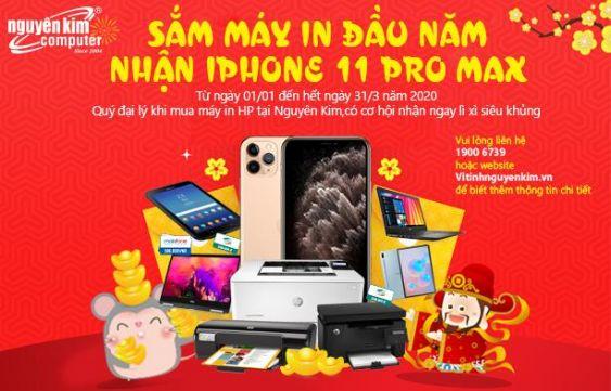 SẮM MÁY IN ĐẦU NĂM NHẬN IPHONE 11 PRO MAX