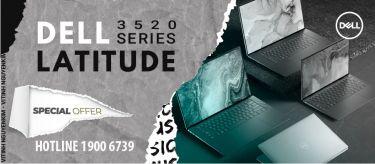 Laptop Dell Latitude 3520 hiệu năng và thời lượng pin đáp ứng