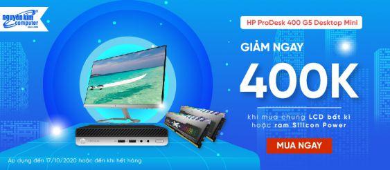 Mua Kèm PC HP 400 G5 Giảm Ngay 400k