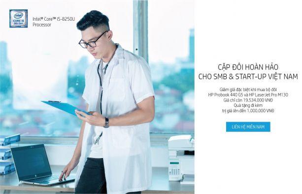 HP đồng hành cùng SMB và StartUp Việt Nam