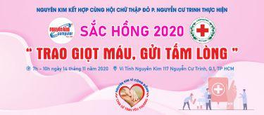SẮC HỒNG 2020 - TRAO GIỌT MÁU, GỬI TẤM LÒNG